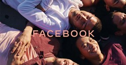 The new Facebook company brand. Image credit: Facebook.