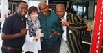 Motshwari Mofokeng, Tanya Waterworth, Doctor Ngcobo and Chris Ndaliso.