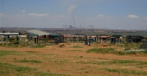 A cemetery in Phola, a black residential area near Witbank, to which some graves were relocated to make way for coal mining. Supplied
