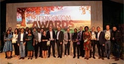 All the AfricaCom winners. Image supplied.