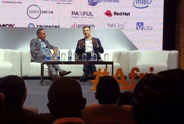 Rob Shuter, group president and CEO at MTN, recently shared the mainstage at AfricaCom 2019 with John Senior, managing partner at Bain & Company Johannesburg, discussing digital inclusion in Africa.