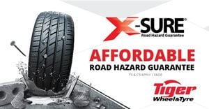 Tiger Wheel & Tyre's X-SURE is the gold-standard of road hazard guarantees