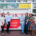 Sandton Central launches new logo, tourist information kiosk