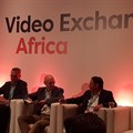 Video Exchange Africa, AfricaCom Panel (L-R): Siddhartha Roy, Cees van Versendaal, Russell Southwood, Ryan Solovei.