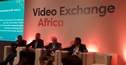 Video Exchange Africa, AfricaCom Panel (L-R): Siddhartha Roy, Cees van Versendaal, Russell Southwood, Ryan Solovei.