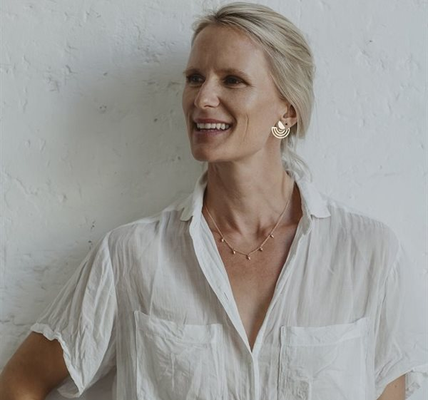 Kristin Weixelbaumer, founder and designer at Betty Betty Jewellery.