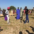 Breaking ground on new school in Senegal