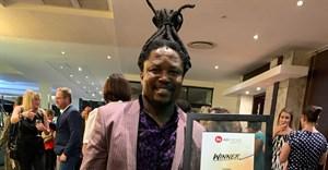 Neo Mashigo, chief creative officer of M&C Saatchi Abel, announced as the FM AdFocus industry leader 2019. Image credit: M&C Saatchi Abel.