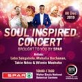 2019 Soul Inspired concert brought to you by Spar