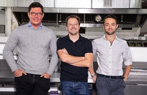 Some of SA's most successful entrepreneurs are involved in Darth Kitchens. Pictured from left: Manuel Koser, co-founder and director, Silvertree Investments; Heini Booysen, CEO Darth Kitchens; and David Torr, UCook CEO and co-founder.