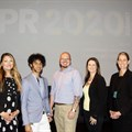 #PR2020 Summit speakers Nadia Hearn of Faselis, Jody Kolbee of Writers Hand Studios, Jaco Pienaar of PEAR, Sasha Knott of Job Crystal and Regine Le Roux of Reputation Matters. Missing: Robin Tindall of Lead Genius.