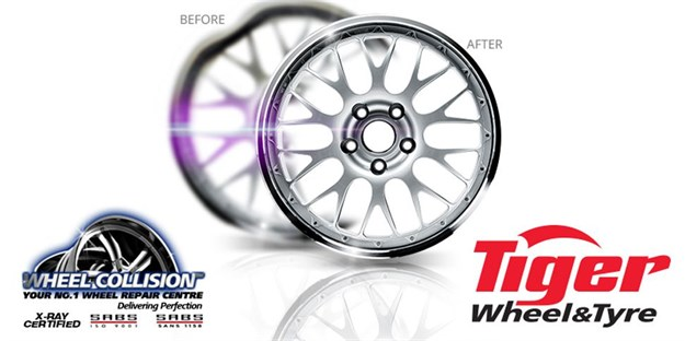 Need alloy wheel repairs? Trust the company trusted by Tiger Wheel & Tyre and some of SA's major insurance companies