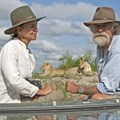 Botswana-based wildlife filmmakers Dereck and Beverly Joubert.