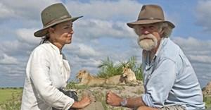 Botswana-based wildlife filmmakers Dereck and Beverly Joubert.