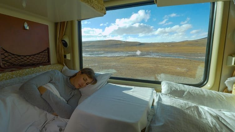 Sleeper train operators promise comfort to entice would-be flyers.