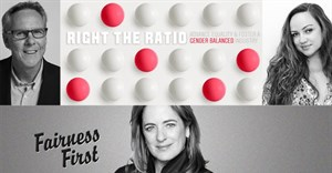#FairnessFirst: Right the Ratio of global C-Suite creative diversity
