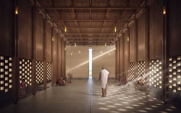 First prize winner for Peace Pavilion 2019: Changze Cai from China