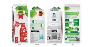First Choice introduces bio-based fresh milk ESL packaging