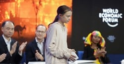 Activist Greta Thunberg was among attendees who want the world's leaders to prioritise fighting climate change.