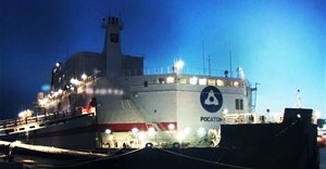 Floating nuclear plant provides first power