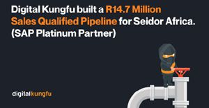 Digital Kungfu builds a R14.7m sales qualified pipeline for Seidor Africa (SAP Platinum Partner)