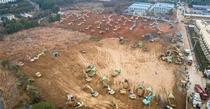 China building 1,000-bed hospital in 6 days to fight Coronavirus