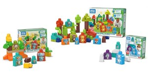 Mattel launches building sets made from bio-based plastic