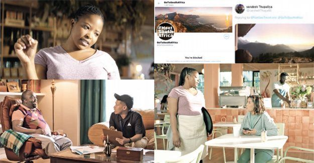 Screengrabs from the Tops@Spar ad and Twitter exchange featured in #OrchidsandOnions this week.