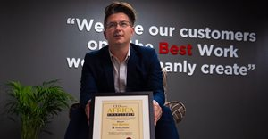 Neil Barker one of the winners of the CEO Today Africa Awards 2019