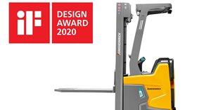 Big award for compact forklift: ERC 216zi stacker truck wins iF Design Award