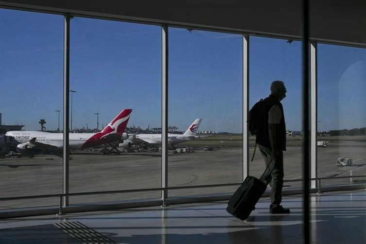Qantas has pledged to reach net zero carbon emissions by 2050. Lukas Coch/AAP