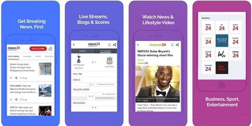 News24 launches brand new mobile app