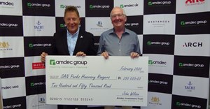 Amdec Group donates R1.25m to SANParks Honorary Rangers over 5 years
