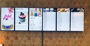 Oh My Cake! elevates the in-store experience with digital menu boards
