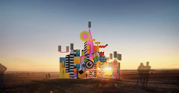 Morag Myerscough, Luke Morgan to build interactive superstructure at AfrikaBurn 2020