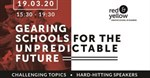 Red & Yellow interrogates how schools prepare youth for the unpredictable future with a new event
