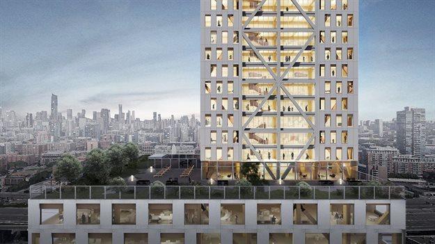 Image © Sidewalk Labs, Michael Green Architecture, Gensler