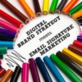 Email signature marketing introduced into prestigious Digital Brand Strategy course