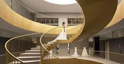 Pablo Muñoz Payá Arquitectos converts old industrial building into bridal store