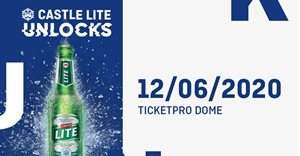 Castle Lite hides 2020 Unlocks headliner in plain sight!