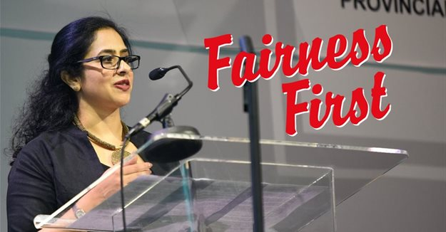 Renuka Methil, managing editor of Forbes Africa and Forbes Woman Africa.