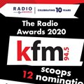 The Radio Awards 2020: 12 nominations for Kfm 94.5