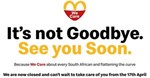 McDonald's South Africa is temporarily closed for business