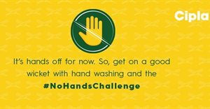 Cipla partners with Cricket SA for the Covid-19 awareness #NoHands challenge