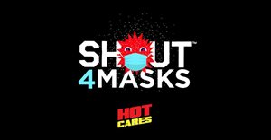 Hot 91.9FM's Hot Cares donates R10,000 to Shout4Masks