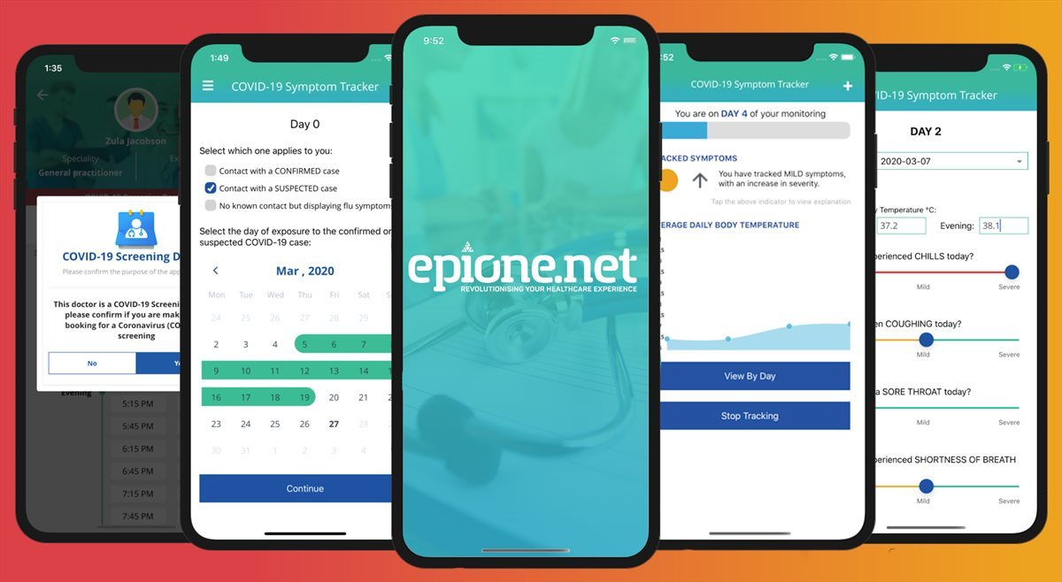 epione.net offers free Covid-19 pre-screening symptom checker