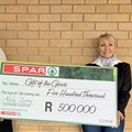 Spar donates R500k to Gift of the Givers