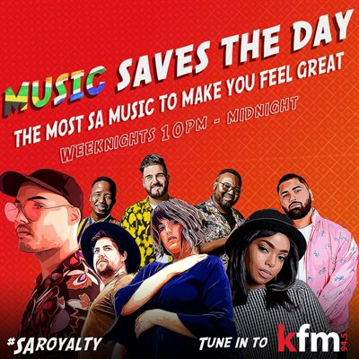 Music saves the day: Kfm 94.5 launches new SA music show