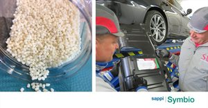 Sappi Symbio bio-composite solution chosen to help reduce the environmental impact of motor vehicles