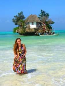 This influencer projected me into her Zanzibar dream